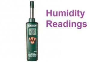 Humidity Readings